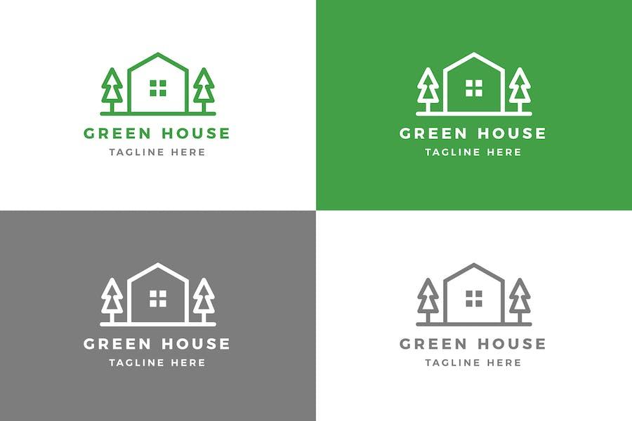 Green House - Logo Template