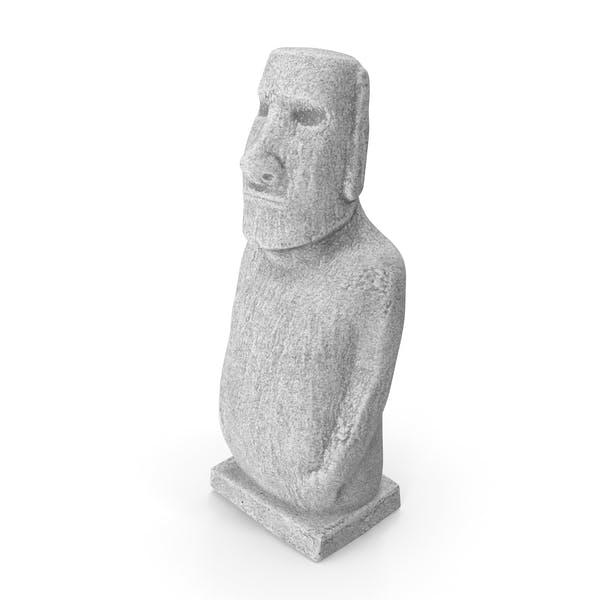 Moai Hoa Hakananai White