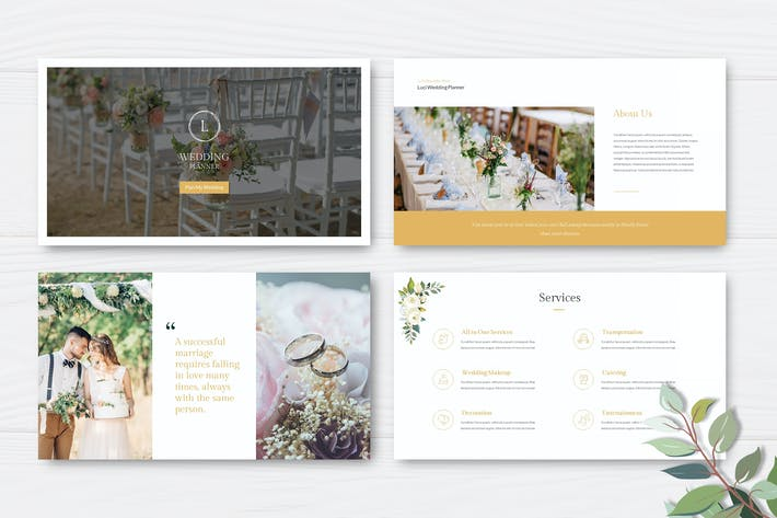 Luci - Wedding Planner Powerpoint Presentation
