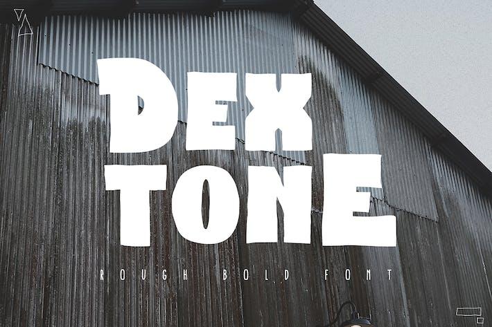 Thumbnail for Dextone Typeface