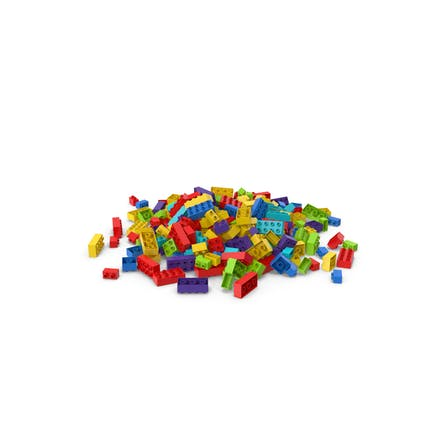 Pile Of Brick Toys