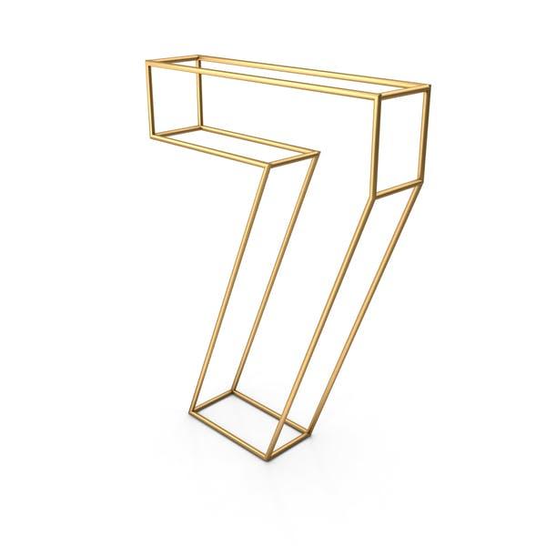 Декоративная проволока номер 7