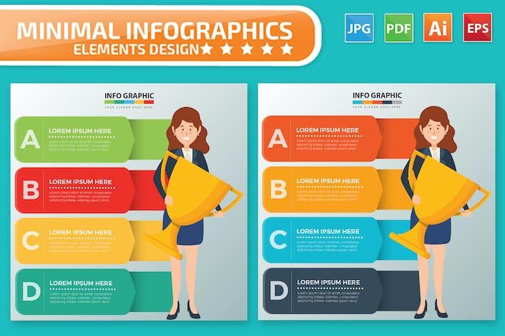 Thumbnail for Woman Infographics Design