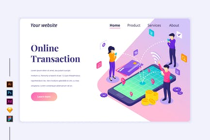 Online Transaction Isometric - Agnytemp