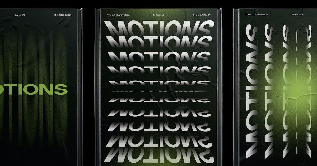Download Billboard Poster Mockup by helloDigi