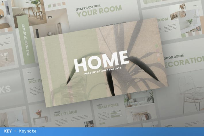 Home Keynote Presentation Template
