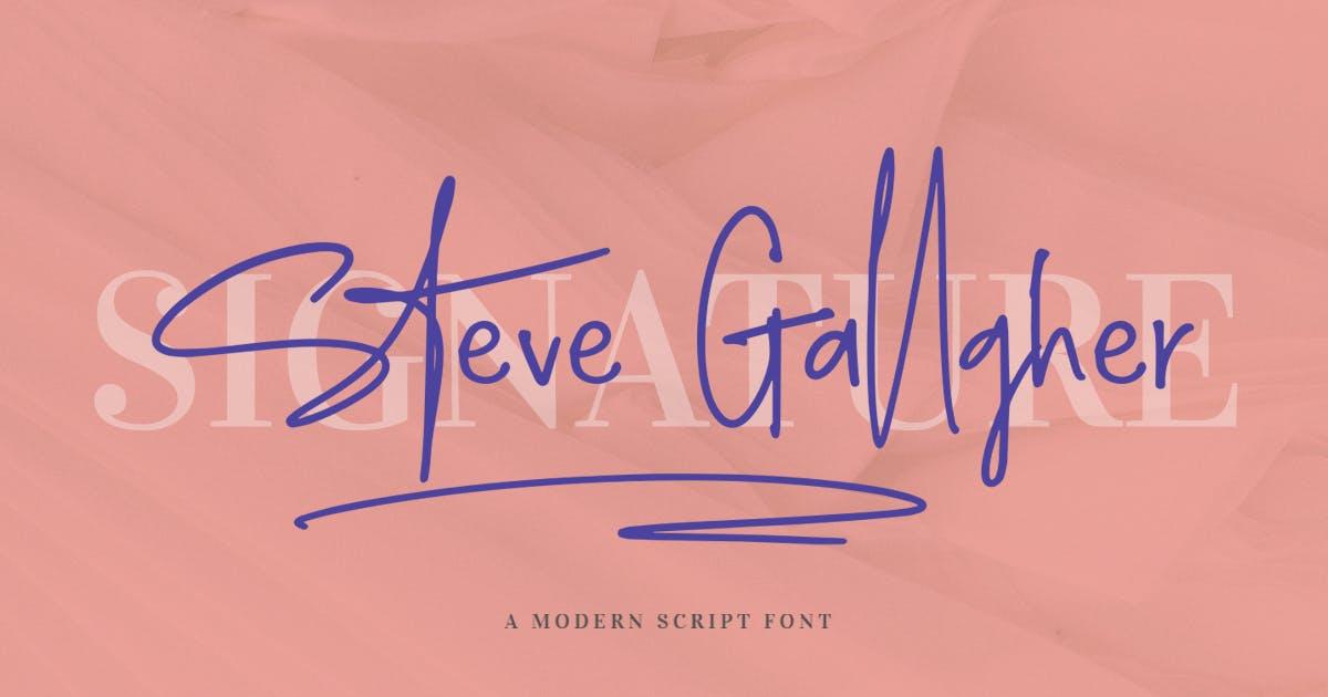 Download Steve Gallagher by Scratchdesignbali