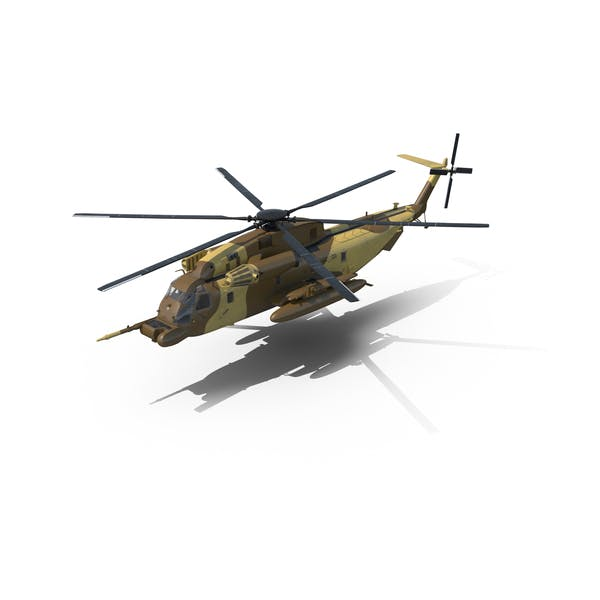 Thumbnail for Combat Helicopter Sikorsky MH-53 Pave Low III