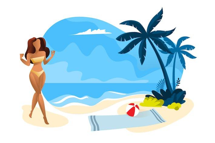 Thumbnail for Summer vector illustration