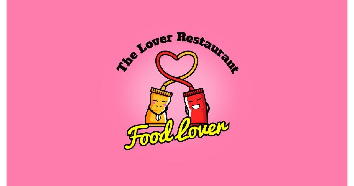 Download food lover - Mascot & Esport Logo by aqrstudio