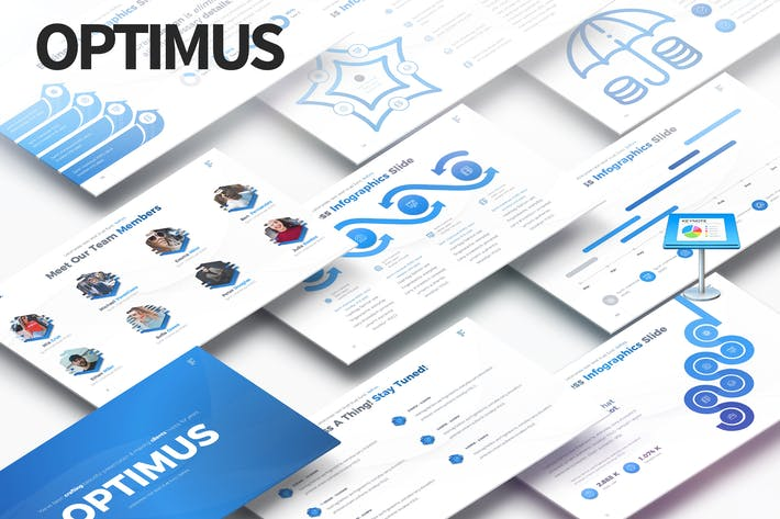 Thumbnail for OPTIMUS - Multipurpose Keynote Presentation