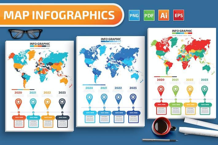 Карты Инфографика