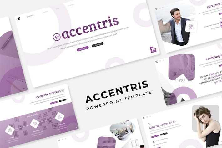 Thumbnail for Accentris - Plantilla de PowerPoint