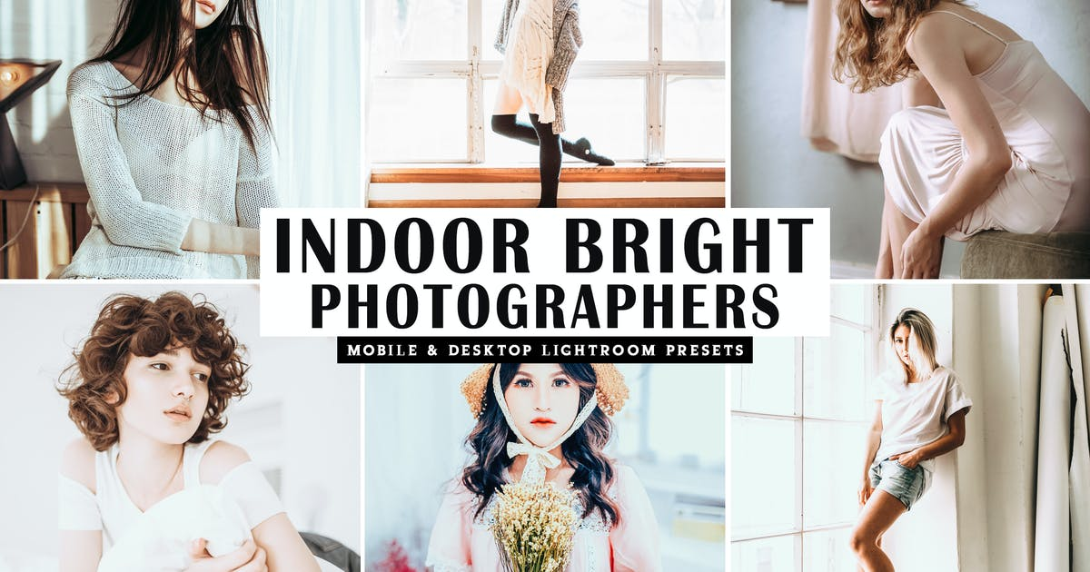 Download Indoor Bright Mobile & Desktop Lightroom Presets by creativetacos
