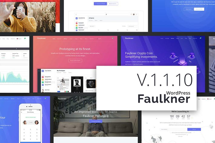 Thumbnail for Faulkner Responsive Multiuse WordPress Theme