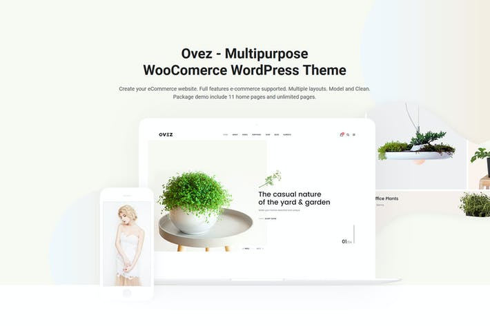 Cover Image For Ovez - Modern Multi-Concept WooCommerce Theme