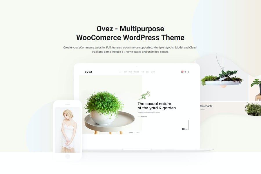 Ovez - Modern Multi-Concept WooCommerce Tema