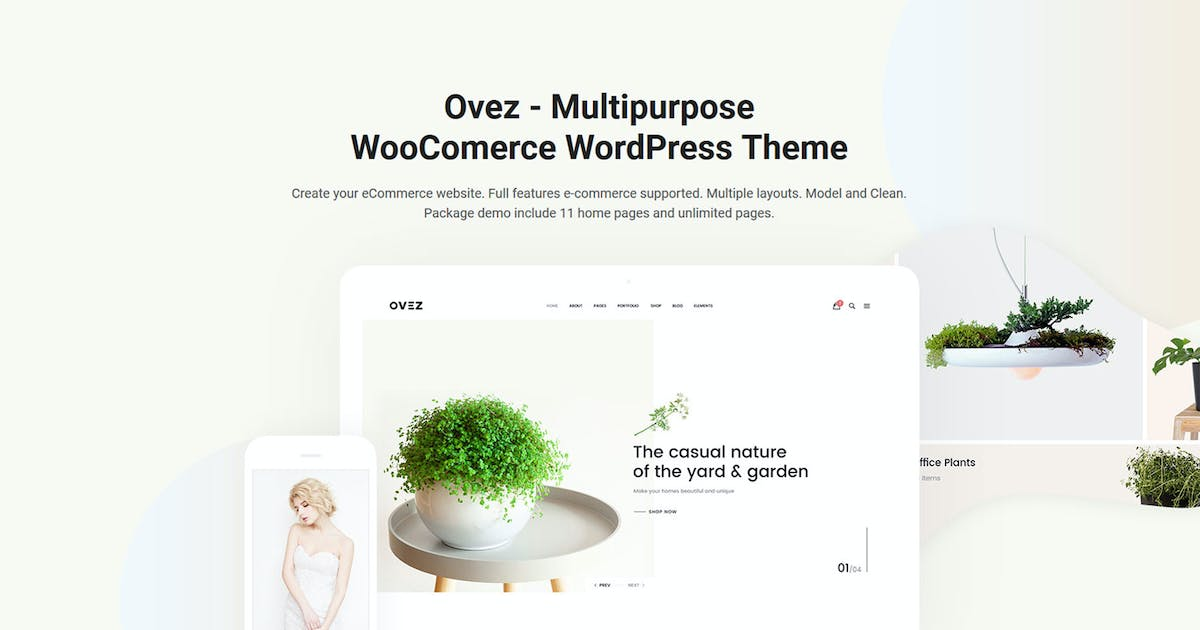 Download Ovez - Modern Multi-Concept WooCommerce Theme by nanoagency