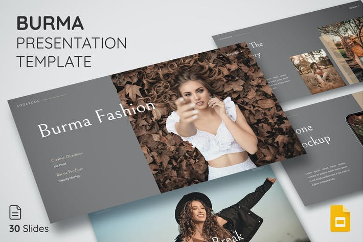 Thumbnail for Burma - Google Slide Presentation Template