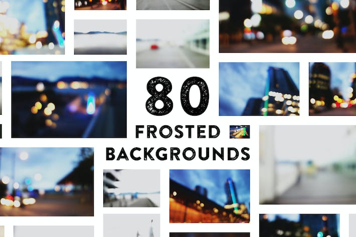 Thumbnail for 80 Beautiful Frosted Backgrounds