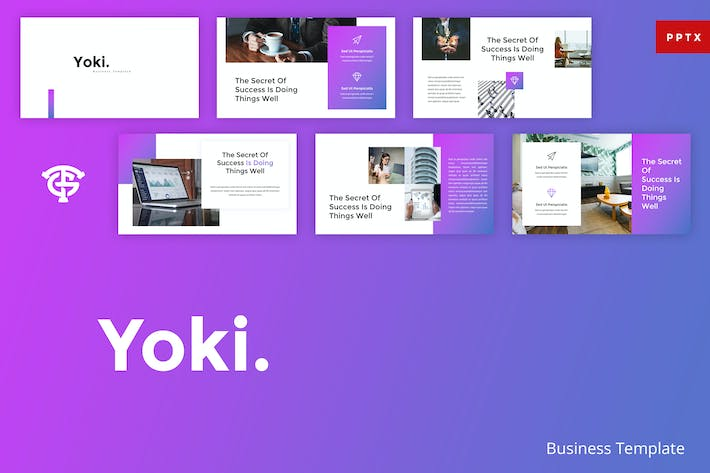 Thumbnail for Yoki Business - Powerpoint