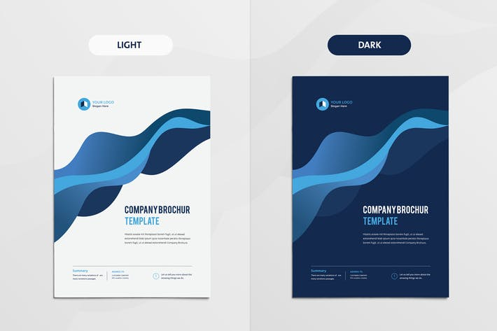 Thumbnail for Clean & Modern Multipurpose Brochure V2