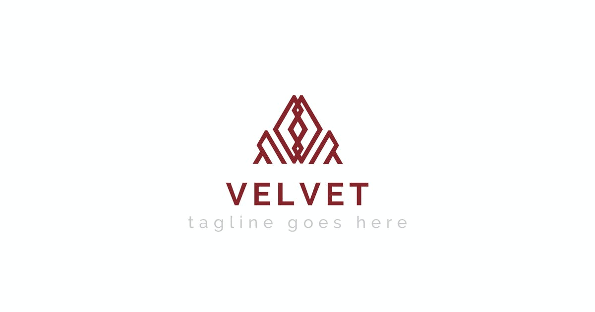Download Velvet - Abstract Logo Template by ThemeWisdom