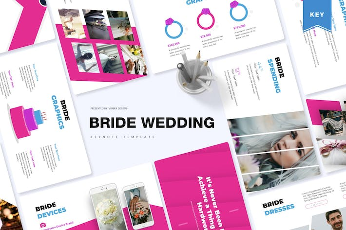 Thumbnail for Bride Wedding | Keynote Template