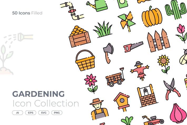 Thumbnail for Gardening Filled Icon