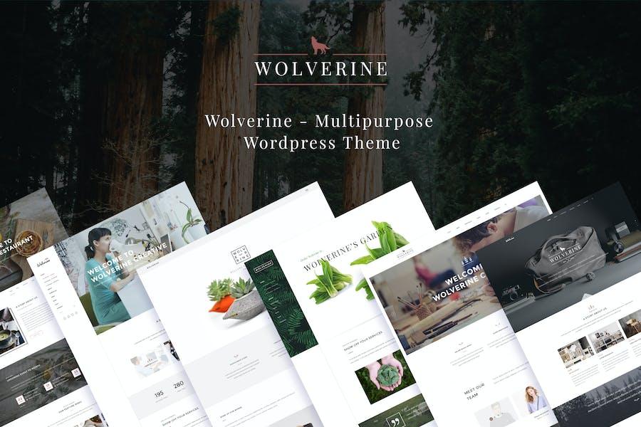 Wolverine - Responsive Multi-Purpose Theme