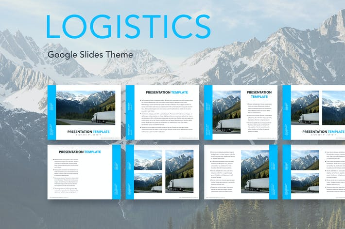 Thumbnail for Logistics Google Slides Theme