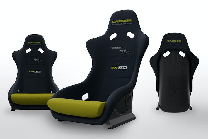 Thumbnail for Fiberglass Racing Seat Mockups