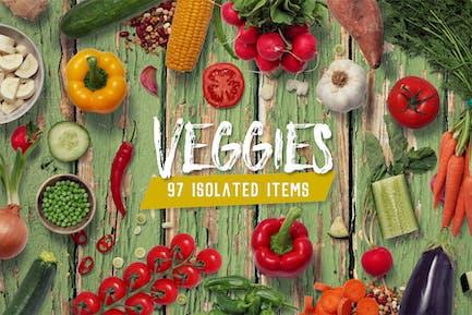 Kitchen Scene Gen. - Veggies