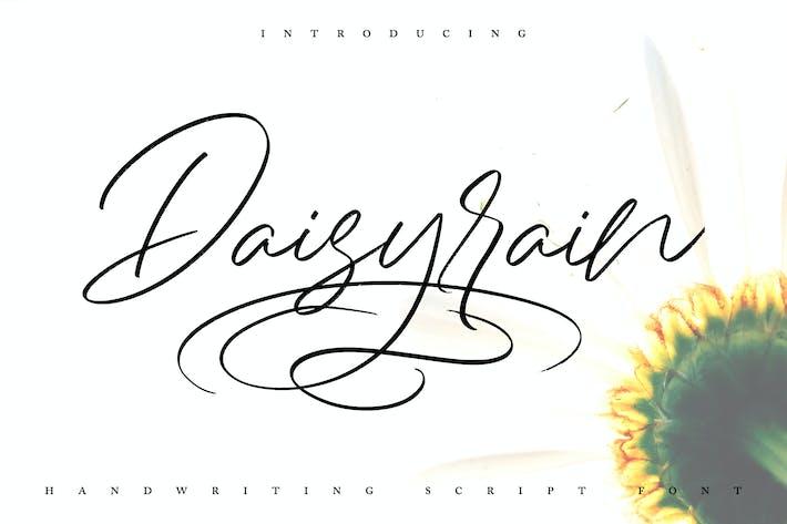 DaisyRain | Handwriting Script Font
