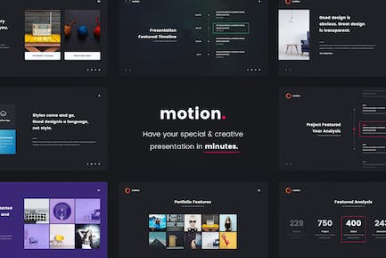 MOTION - Creative & Colored Template (Key)