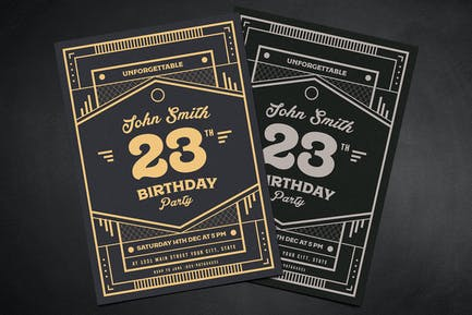 Modern Deco Birthday party