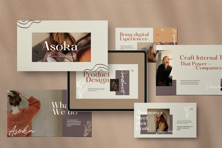Thumbnail for Asoka - Multipurpose Creative Business GoogleSlide