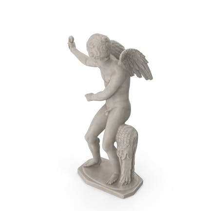 Eros mit Bogenstatue