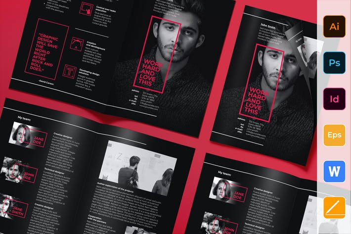 Thumbnail for Art Director Brochure Bifold