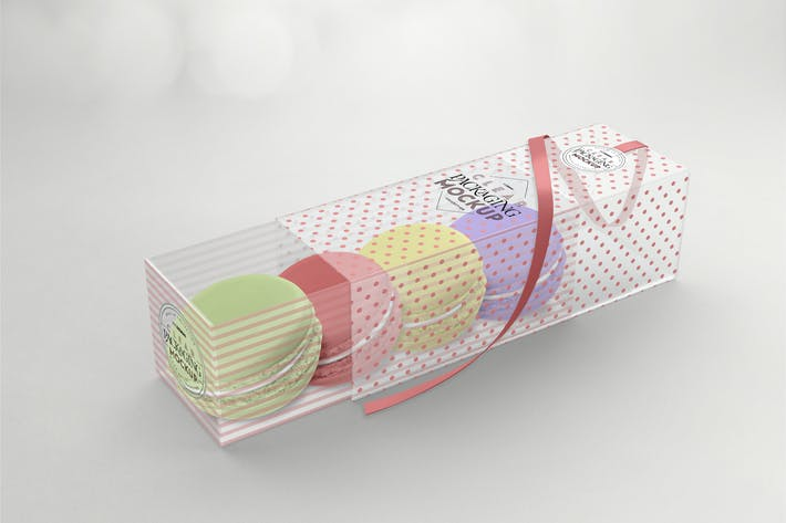 Cover Image For Clear Sleeve Box Packaging Mockup