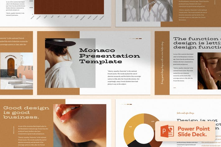 Thumbnail for Монако - Шаблон презентации Power Point
