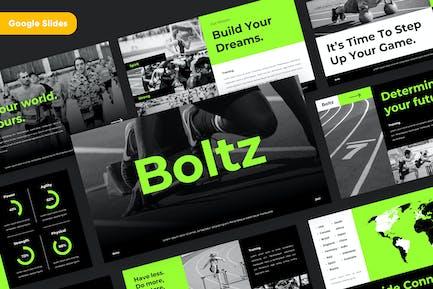 BOLTZ - Sport & Fitness Google Slides Template