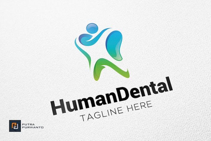 Thumbnail for Dental Humano - Plantillas de logotipos