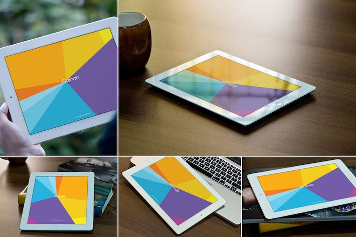 Thumbnail for iPad Mockups