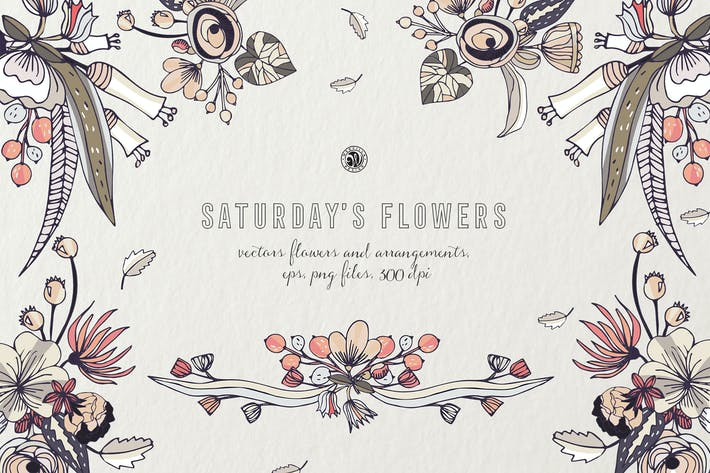Cover Image For Saturday's Flowers