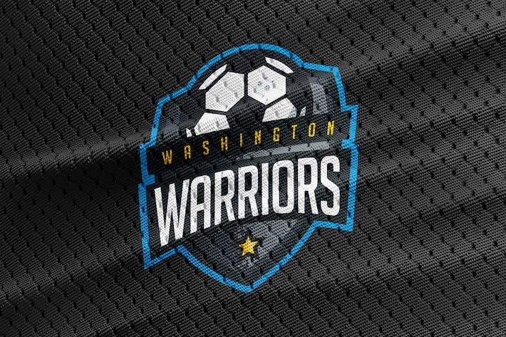 Cover Image For Washington Warriors - Soccer Team Logo