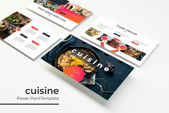 Thumbnail for Cuisine - Powerpoint Template