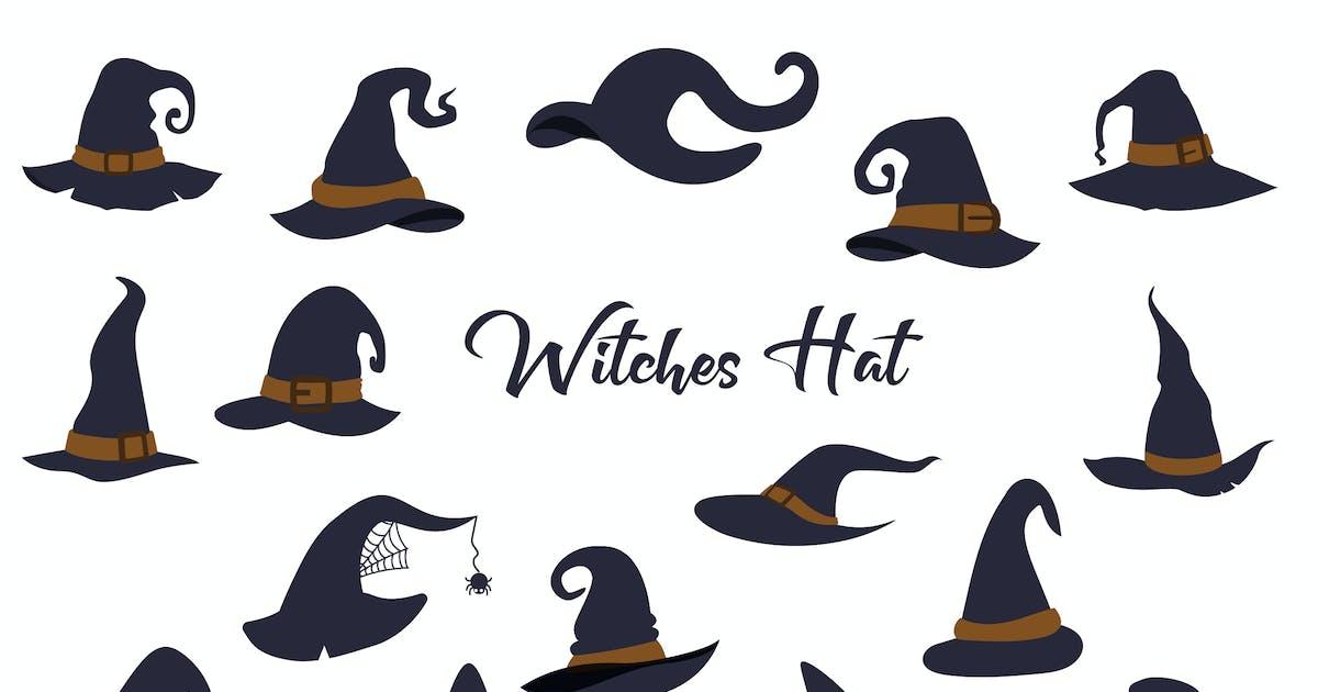 Download Witch Halloween Hat Hand Drawn by vintagio