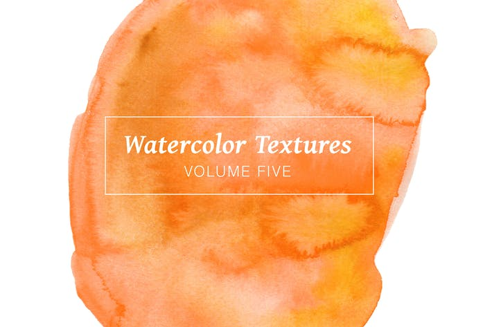 Thumbnail for Yellow & Orange Watercolors - Volume 5