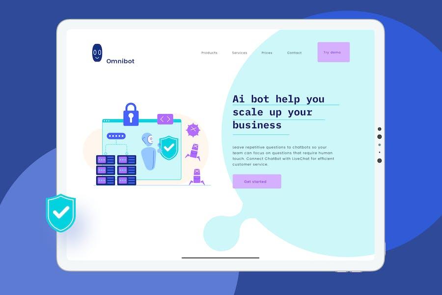 Big Data Security Website Header